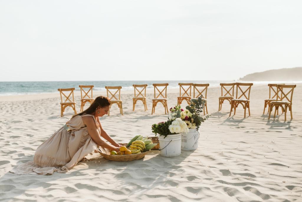 Mandala Beach Wedding - Styling