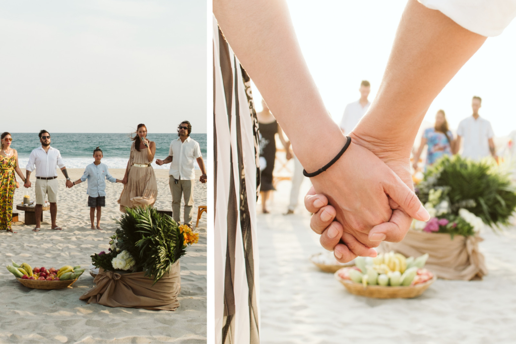 Mandala Beach Wedding