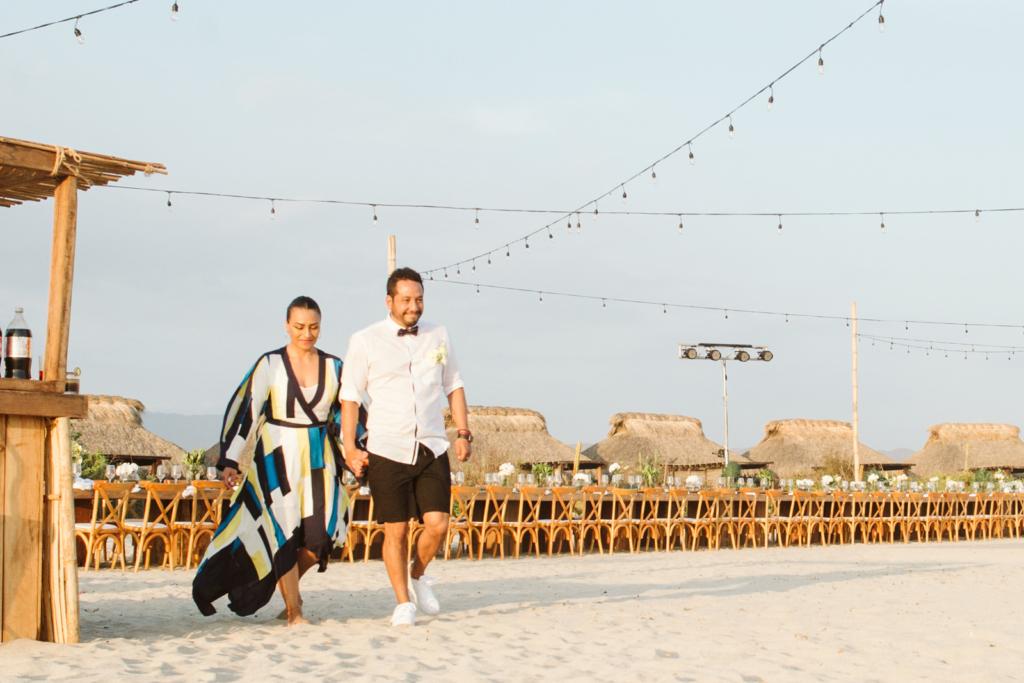 Mandala Beach Wedding - The Groom