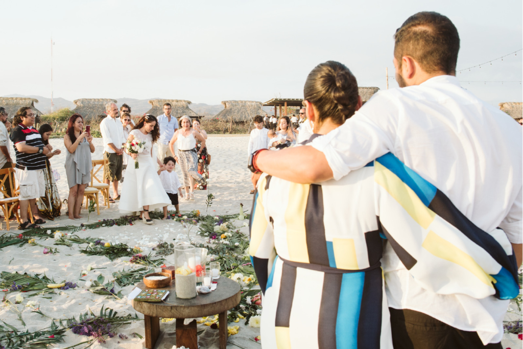 Mandala Beach Wedding - The Bride