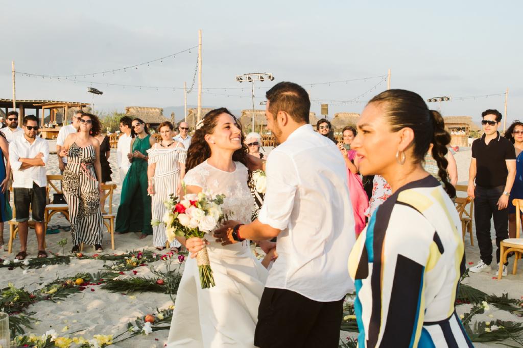 Mandala Beach Wedding - First Look