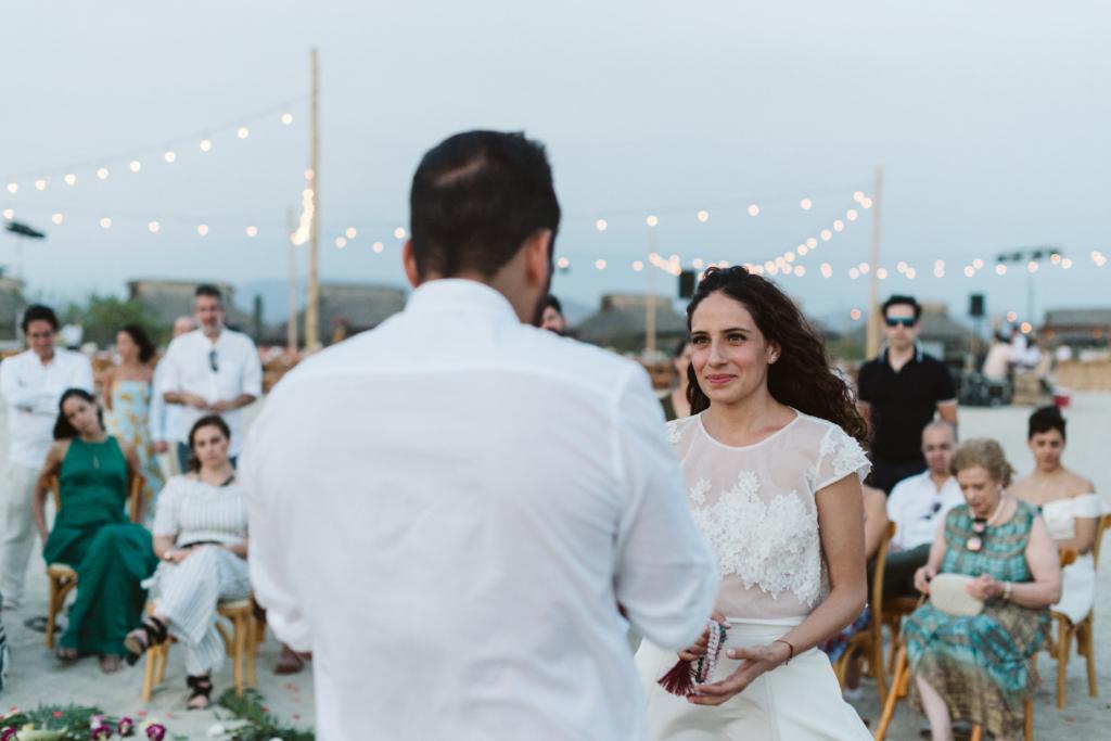 Mandala Beach Wedding - The Groom´s speech