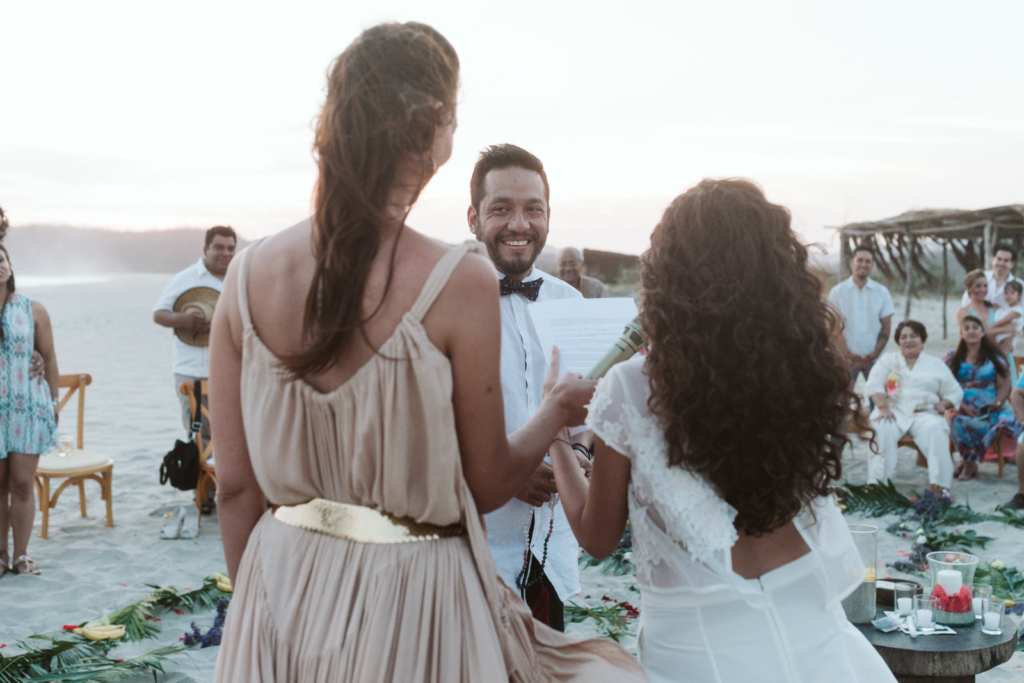 Mandala Beach Wedding - The Bride´s speech