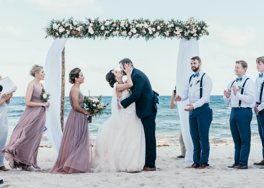 Destination Wedding Photographer, Beach Wedding